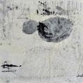 152. ZEN. Teil eines Triptychons. 20x20 cm. 2015. Wachs-/Mischtechnik auf Holz