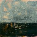 earth song 6. 11/2015. Mischtechnik auf Papier. 21x21 cm