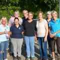 Bordesholmer LandFrauen, Brügger Verkehrsinsel im September 2019
