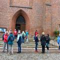 Bordesholmer LandFrauen, 500 Jahre Brüggemann-Altar, August 2021