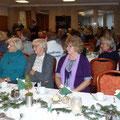 Bordesholmer Landfrauen; Weihnachtsfeier in Mühbrook im Dezember 2017