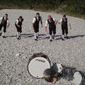 Die Schlagzeuger der Erzherzog Johann Musikkapelle