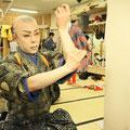 2015/1 歌舞伎座楽屋にて