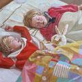 """Детский сон""  76х101 см, 2006г."