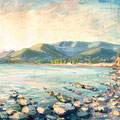 """Море в Крикице"", 2002, х.м."