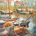 """""""Старые яхты"""", 2000, х.м."""