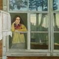 """У окна"" 100х120 см, 2001г"