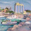 """""""Руины храма"""", 2002, х.м."""
