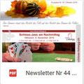 Newsletter Nr. 44   Oktober 2016
