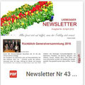 Newsletter Nr. 43 | April 2016