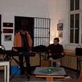Richard Köhler und Rainer Michel an der Gitarre