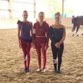 Einzel Junior - Sina Rückert, Maja Schmitt und Jana Galda