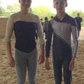 Einzel Junior - Melinda Baulig und Simon Stolz (Ingelheimer RV)