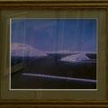 竹田辰興:唐津湾の島々(虹の松原から、赤外線写真)