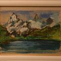 結城八千代:山(1973,4年代の作品)