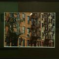 赤塩秀:ニューヨークダウンタウンの街角