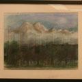 結城八千代:夢の 山の風景