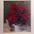菱田瑞枝:赤い花(12号)