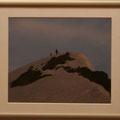 中嶋道芙:唐松山頂を望む
