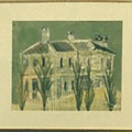 小野幾代:旧ハンター邸(水彩10号)