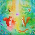 桂 聖子 「リスの遊ぶ森」