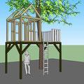 Kinderspielhaus Planung