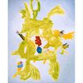 トリシマ 53cmx45.5cm oil on canvas