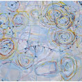 天気図 130.3cmx162cm oil on canvas