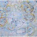 天気図 130.3cmx162cm oil on canvas