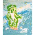 sea gohst 53cmx45.5cm oil on canvas