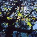 夜光リーフ 130.3cmx162cm oil on canvas