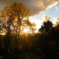 Sonnenuntergangsidyll nach der ganzen Aufregung