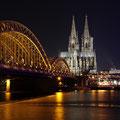 Dom & Hohenzollernbrücke (andere Seite)