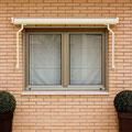 Toldos con cofre para ventanas