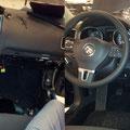 Ombouw VW golf naar politieauto