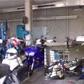 Ray Service On Site motor voelt zich thuis tijdens een ombouw van politiemotoren