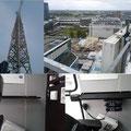 Inbouw met utzicht ! Dubbele mobilofoon op 45 meter hoogte bij de nieuwbouw van utrecht cs