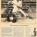 Grolsch Bier reclame 'Vakmanschap is Meesterschap'