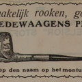 Advertentie 1930