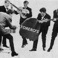 THE TORERO'S vlnr: Martin Stevens - Rudy Kleijn - Hans Hollestelle - Martin Bijlard - Jan Hollestelle