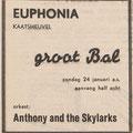 Anthony & his Skylarks: Echo van het Zuiden 22-1-1965