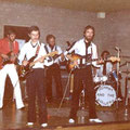 Johnny & The Rollers, Buurthuis Kalsdonk, Roosendaal 07-10-1978 vlnr: Martin Glaudemans - Rudi van Selst - André Kouwenberg - Peter Timmermans - Johan Damen