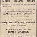 Anthony & his Skylarks: Echo van het Zuiden 9-7-1965