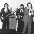 SAVAGE KALMAN & THE EXPLOSION ROCKETS - Parochiehuis, Klundert (30-04-1980) (4e bezetting) Tim Schouten - Leo Meyer - Bart Strik - (Savage) Kalman Smits - Jan v.d. Boom