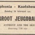 Anthony & his Skylarks: Echo van het Zuiden 12-2-1965
