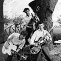 JOHNNY & THE ELECTRO SENSATION BOYS 1959 vlnr: Jan Rozenbrand, Jan van Helvoirt en Tiny van Oers