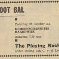 THE PLAYING ROCKETS: De Echo van het Zuiden 5 oktober 1963