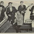 Anthony & his Skylarks 1964 - vlnr: Ad Wijgergans, Kees Steenbergen, Bertus van Heijst, Jan van Helvoirt, Anton Krijnen en Jan de l'Or.