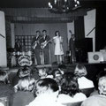 Marijke Hofland met The Hurricane Strings in Hotel De Kroon - Gennep 1962