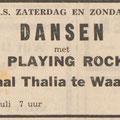 THE PLAYING ROCKETS: De Echo van het Zuiden 6 juli 1962